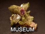 Vesuvianite, Jeffrey Mine, Quebec, Canada